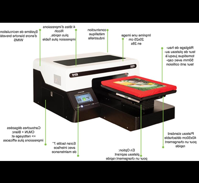 Quelle imprimante pour impression transfert textile ?