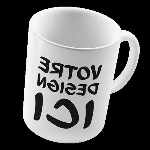 Comment décorer un mug blanc ?