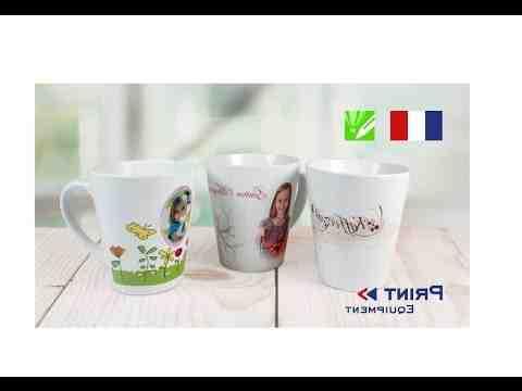 Comment faire pour imprimer sur un mug ?