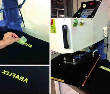 Presse a chaud textile